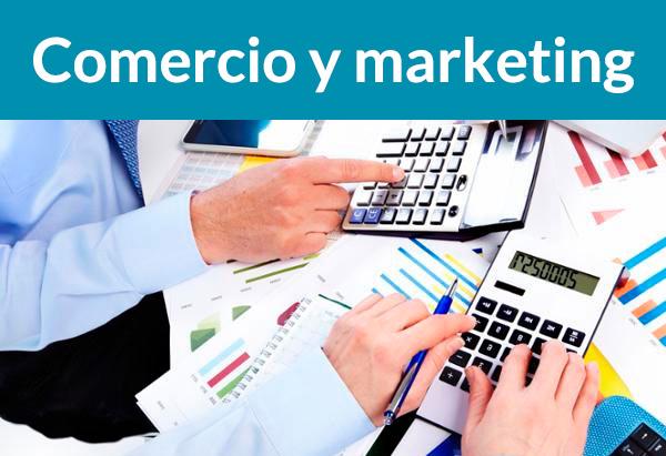 Cursos de Comercio y márketing